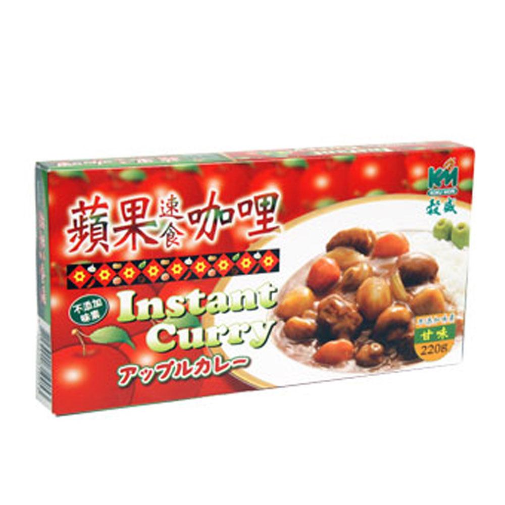 穀盛 蘋果速食咖哩甘味(220g)