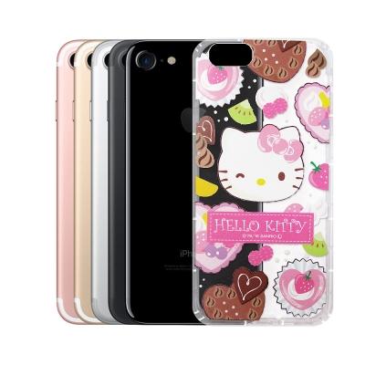 Hello Kitty 凱蒂貓 iPhone 8/iPhone 7 透明空壓防震...
