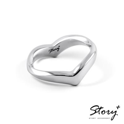 STORY故事銀飾-純銀定情對戒-摯愛-男戒