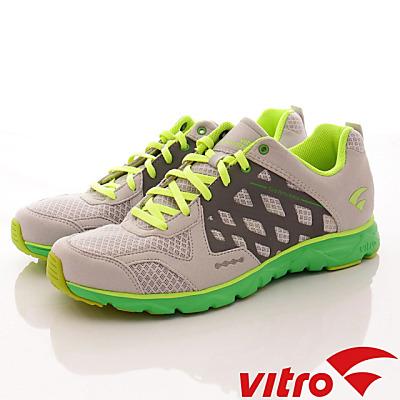 Vitro韓國專業運動品牌-Mode StepⅡ-頂級專業慢跑鞋-灰綠(男)