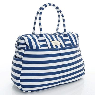 VOVAROVA空氣包-波士頓包-經典條紋(藍)