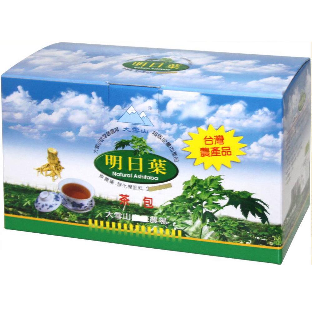 大雪山農場 明日葉茶包/精裝包(30包x4盒)