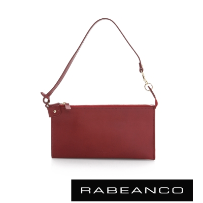 RABEANCO 迷時尚系列手拿包 棗紅