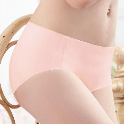 曼黛瑪璉-2016SS 低腰寬邊三角無痕內褲M-XL(曙光粉)