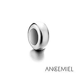 Angemiel安婕米 925純銀 固定珠 簡約(銀)