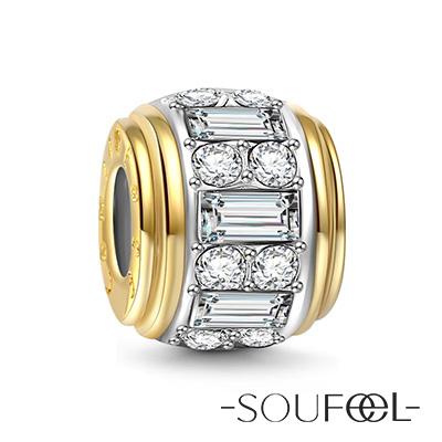 SOUFEEL索菲爾 925純銀珠飾  自信 串珠