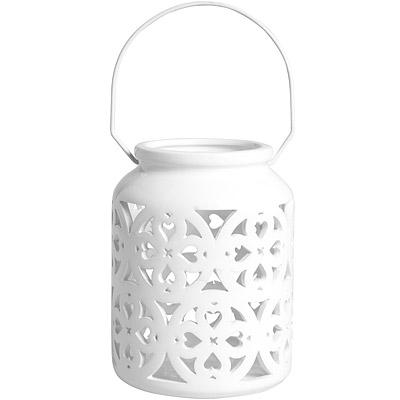 EXCELSA 可掛式陶製燭台 心16cm