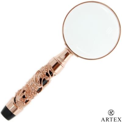 ARTEX <b>12</b>生肖放大鏡 玫瑰金龍