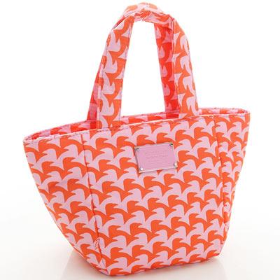 VOVAROVA空氣包-迷你托特包-千鳥飛飛(橘)-法國設計系列