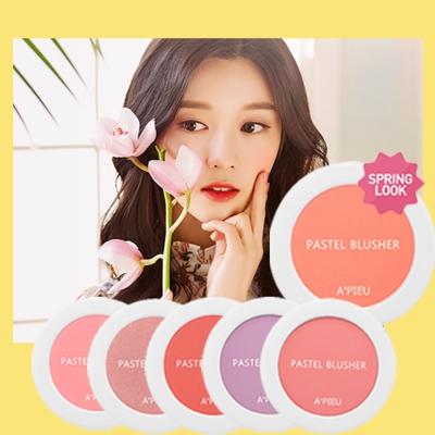 韓國APIEU 好氣色花瓣腮紅 6.8g (6色)