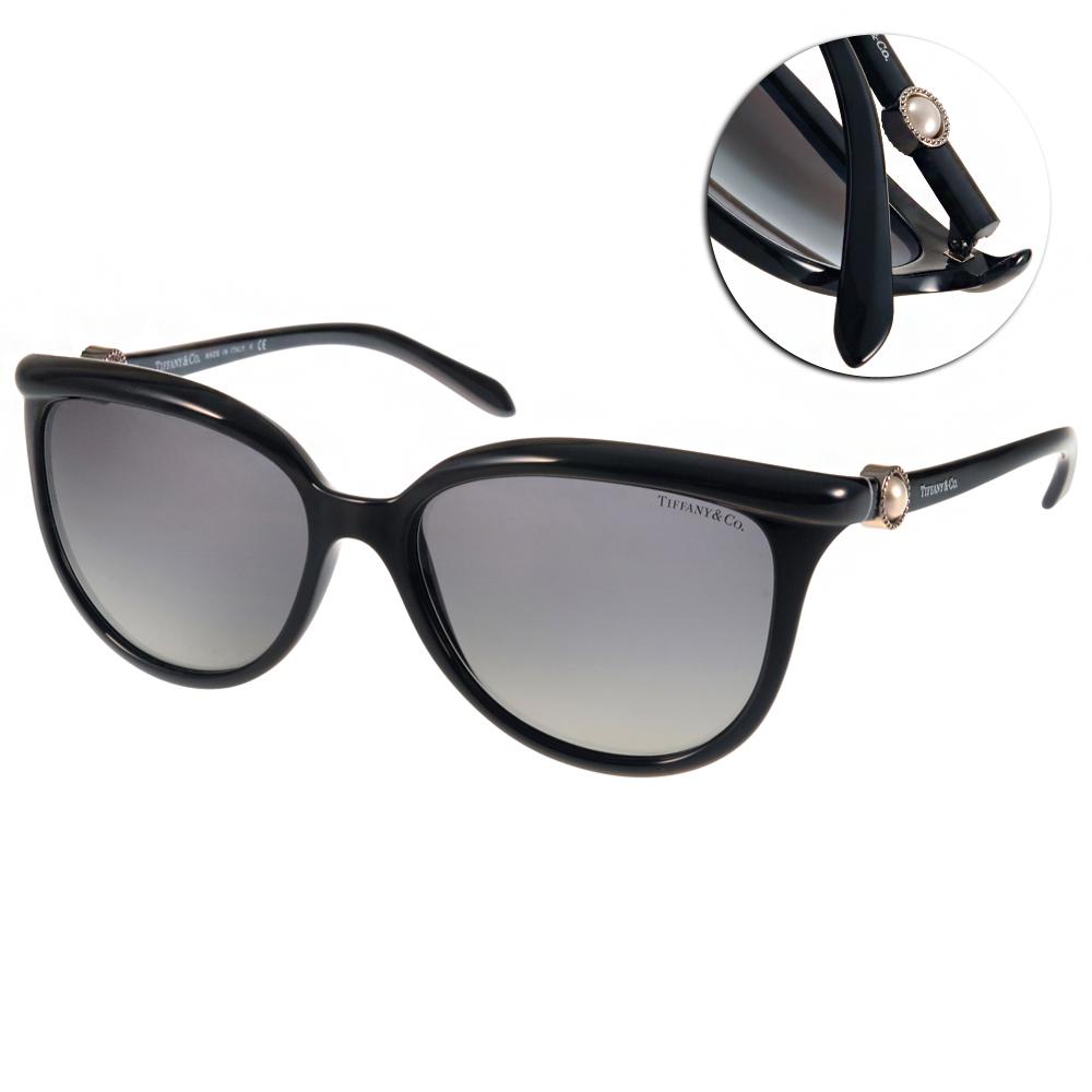 Tiffany&CO.太陽眼鏡 典雅珍珠系列/黑#TF4093H 80013C
