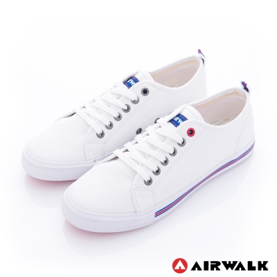 美國 AIRWALK美式百搭休閒帆布鞋-女款(白色)