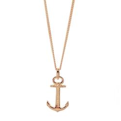 PAUL HEWITT 德國出品 Anchor Spirit 18K玫瑰金船錨項鍊