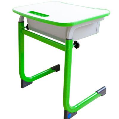 WSH日式快樂兒童升降學習桌(單桌-綠色)