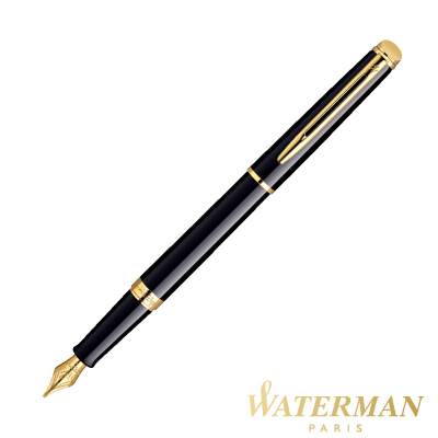 WATERMAN 雋雅系列 黑桿金夾 鋼筆