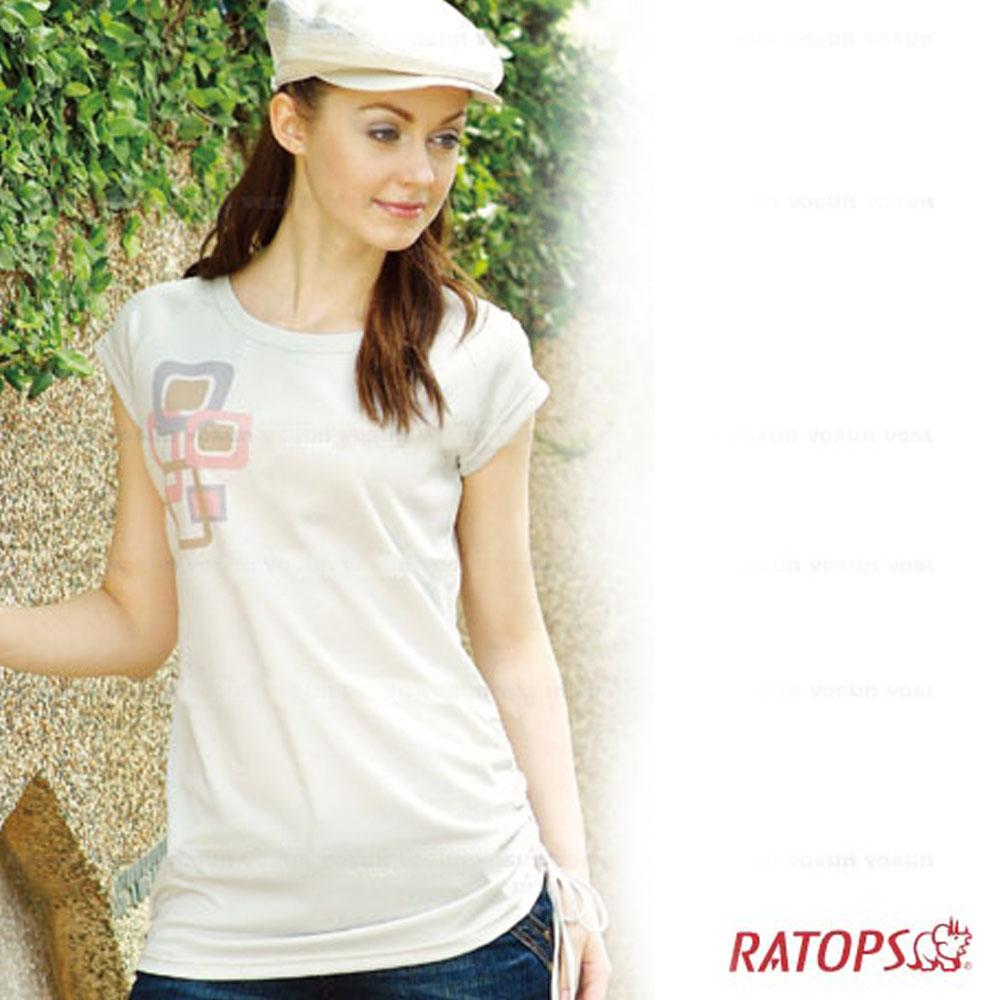 【瑞多仕】女款 COOLMAX 輕量透氣休閒上衣_DB8072 米白 V1