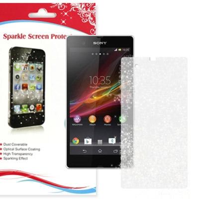 星砂 SONY Xperia Z / L36h 金蔥鑽石螢幕保護貼