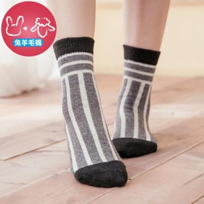 蒂巴蕾 兔羊毛襪-棒球季