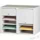 NICK CP雙排塑鋼捲門式公文櫃(共十層) product thumbnail 1
