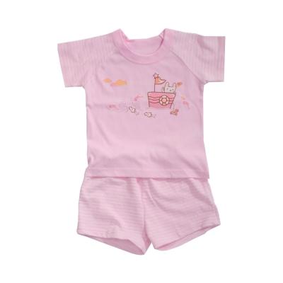 魔法Baby 台灣製兒童夏季短袖居家套裝 k40944