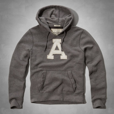 AF a&f Abercrombie & Fitch 帽T 灰色 0355