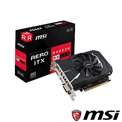MSI Radeon RX 560 AERO 4G OC