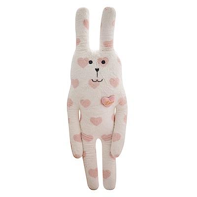 CRAFTHOLIC 宇宙人 粉紅甜心兔中抱枕