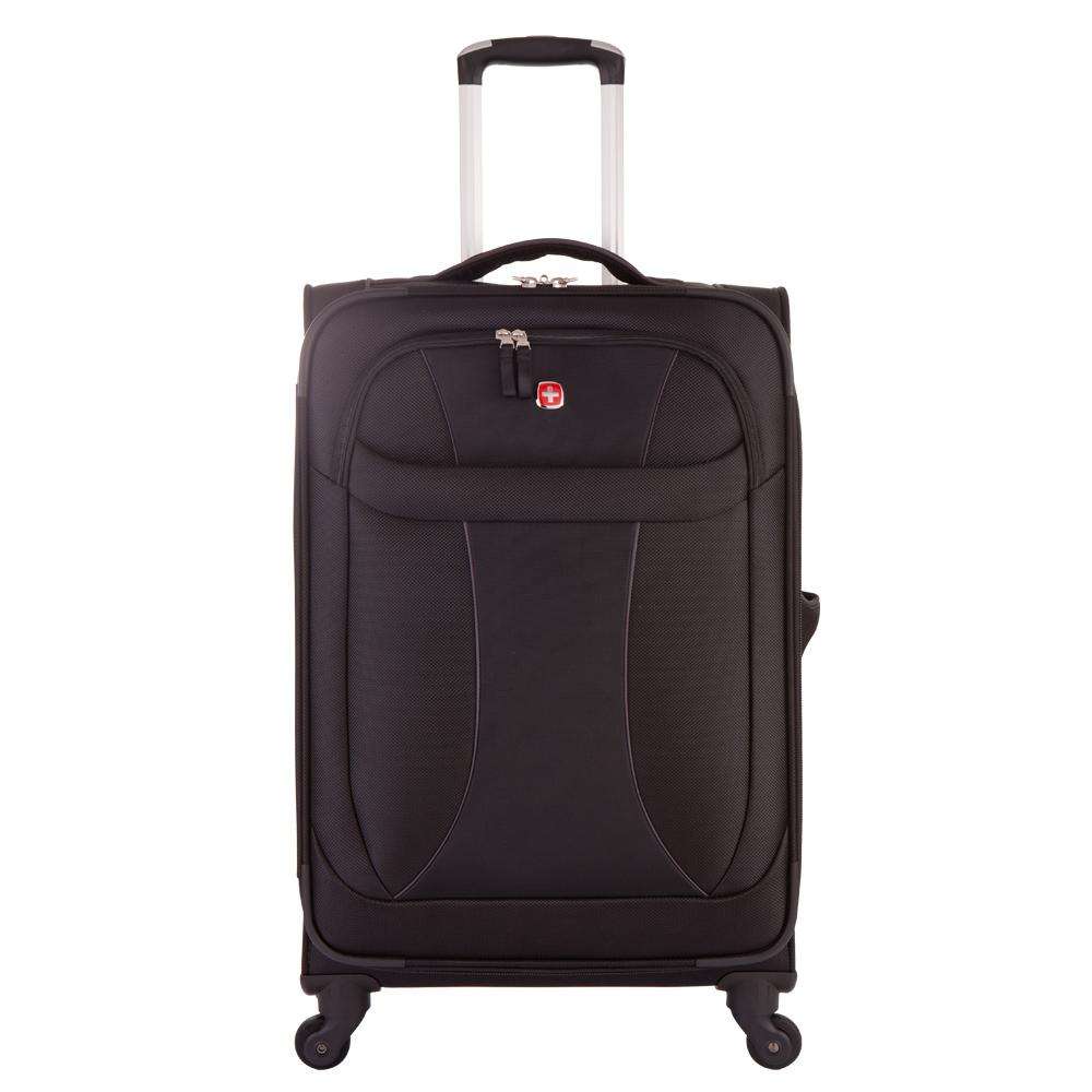 WENGER - 7208 新輕量系列24吋商務行李箱-黑WE720824BK