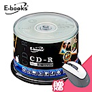 E-books 國際版 52X CD-R 200片桶 (加贈M31光學滑鼠)