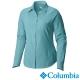 【Columbia哥倫比亞】女-快排防曬40長袖襯衫-湖藍 UAL70790AQ product thumbnail 2