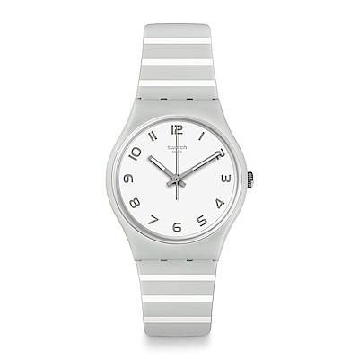 Swatch 情迷地中海 GRAYURE 灰色時光手錶