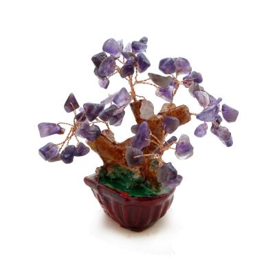 Hera創意滿滿紫水晶招財樹/發財樹