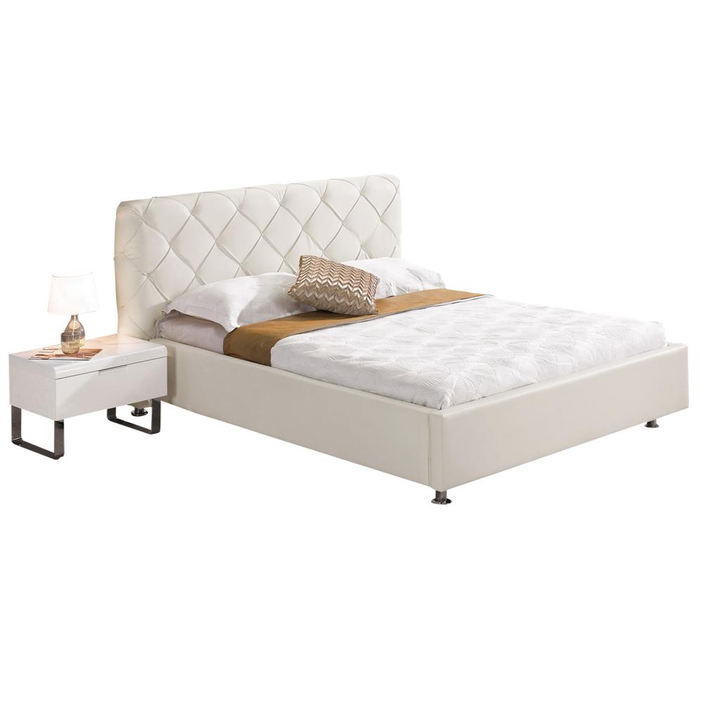 時尚屋 黛爾6尺加大雙人床 (只含床頭-床架-不含床墊、床頭櫃)