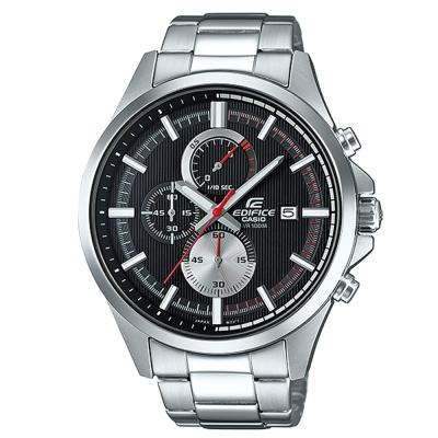 EDIFICE商務先驅超個性沉穩科技感賽車錶(EFV-520D-1A)黑面47.2mm