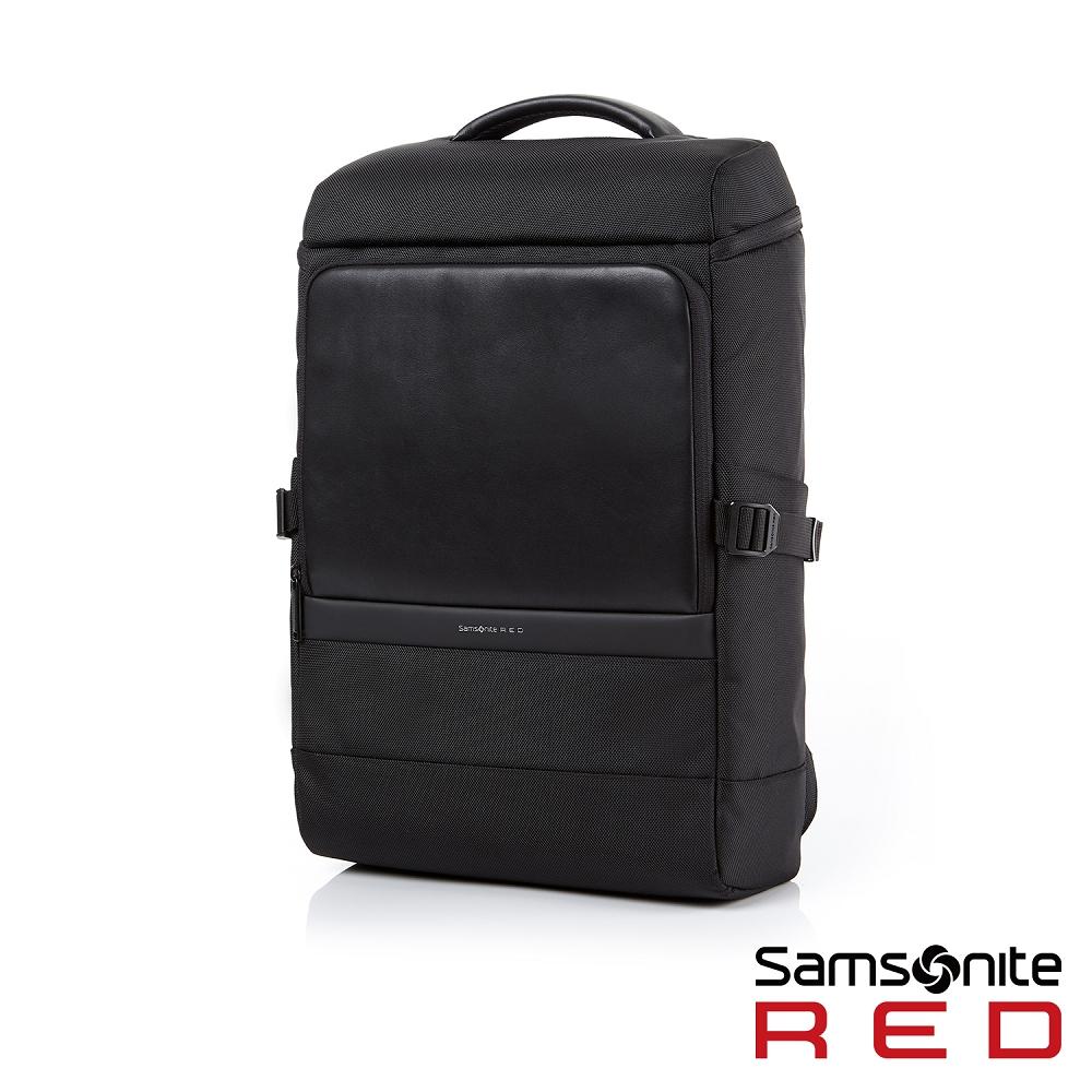Samsonite RED MERR上開式筆電後背包14吋(黑)