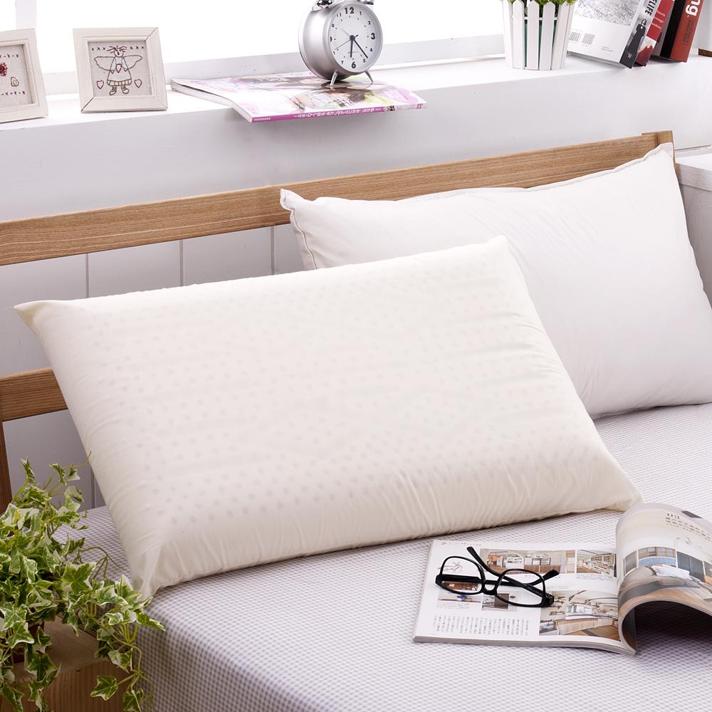 法國Jumendi-純淨宣言 大尺寸AA級蜂巢平面天然乳膠枕-1入
