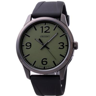 ORIENT 東方極限運動潮流腕錶-IP黑x墨綠/42mm
