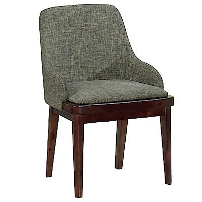 AT HOME-胡桃實木耐磨貓抓皮餐椅(51*46*83cm)荷比