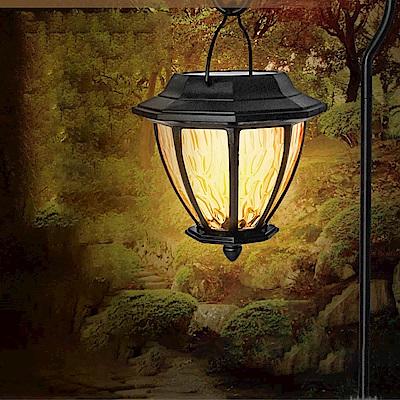 KINYO 金屬吊掛LED庭園燈-黃光(GL-6030)