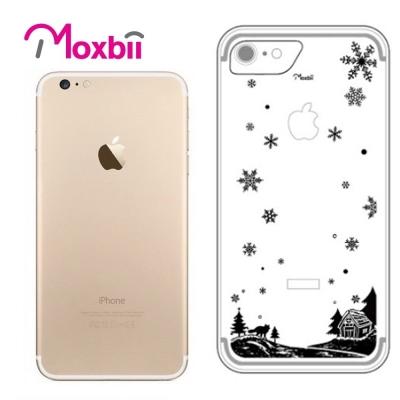 Moxbii iPhone 7 4.7吋 simpOcase光雕殼-雪夜