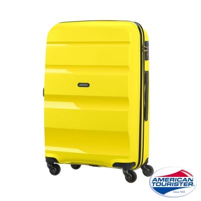 AT美國旅行者 24吋Bon-Air可擴充PP材質四輪拉桿箱(太陽黃)