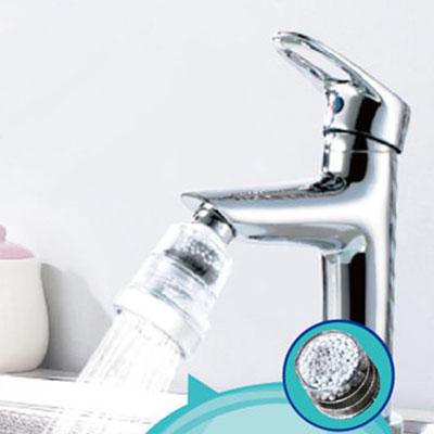 廚房衛浴龍頭三段式變壓濾淨省水濾芯x6個濾芯