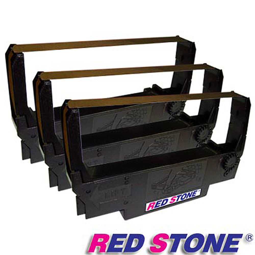 RED STONE for EPSON ERC30/ERC34/ERC38紫色色帶(3入)
