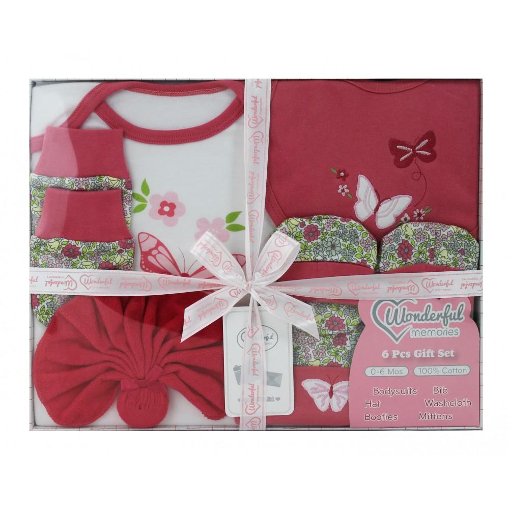 美國Elegant kids彌月禮盒-6件式禮盒組 product image 1