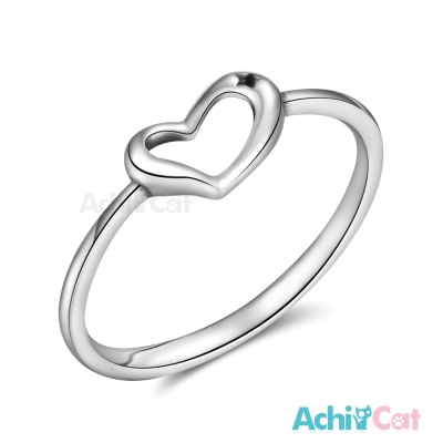 AchiCat 925純銀戒指尾戒 心動的感覺