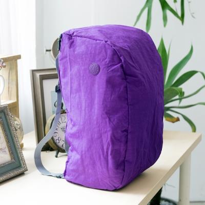 COUNT DUCK 美系悠活輕量雙肩後背包-CD-027-紫色