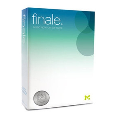 Finale v 25  (樂譜繪製) 商業版 單機版 (下載)