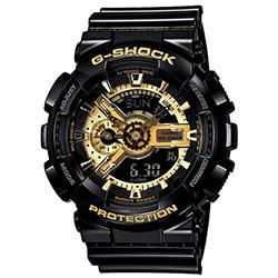 G-SHOCK 變形金剛黑金重型休閒錶(GA-110GB-