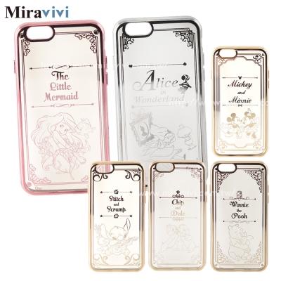 Disney迪士尼iPhone 6/6S Plus時尚質感電鍍保護套-畫框系列