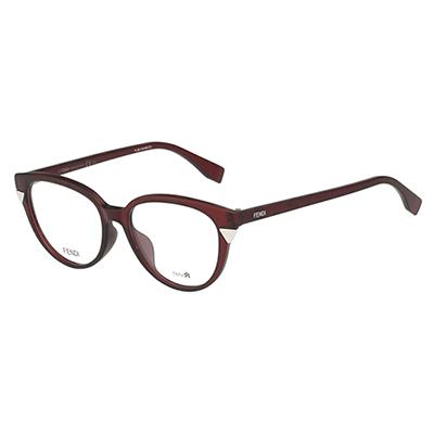 FENDI 小貓眼 光學眼鏡 (紅色)FF0141F